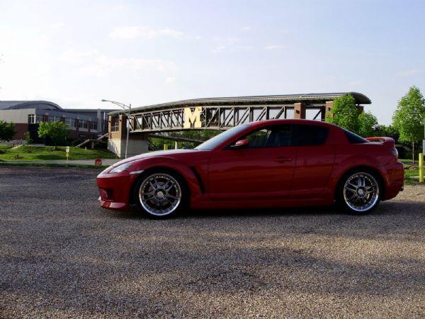 2004 mazda rx8 modified