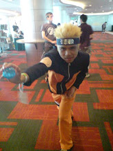 Me Cosplay As Naruto