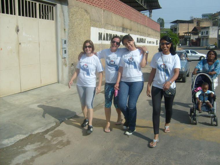 Professores na Caminhada