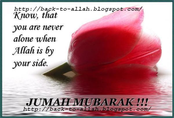 Jummah Mubarak !!!!….Reminder