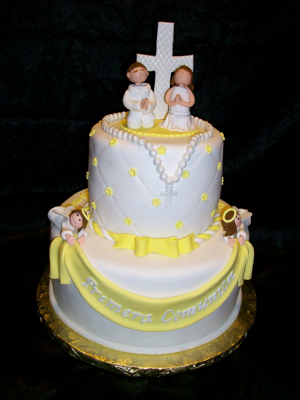 First Communion Cake Images : First Communion Cake
