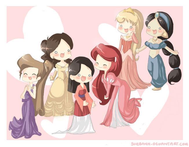 Disney Princess Fan Art