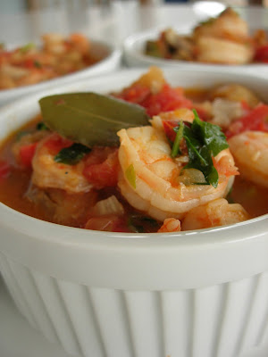 Turkish Shrimp Stew (Karides Guvec)