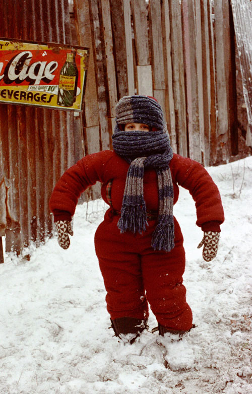 When we took you outside and  A Christmas Story Snowsuit