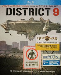 District 9 Blu-ray and God of War III demo