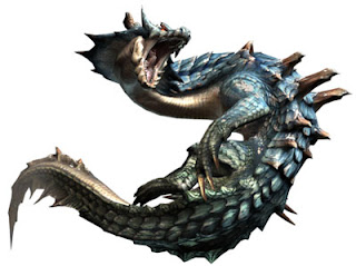 Lagiacrus from Monster Hunter Tri