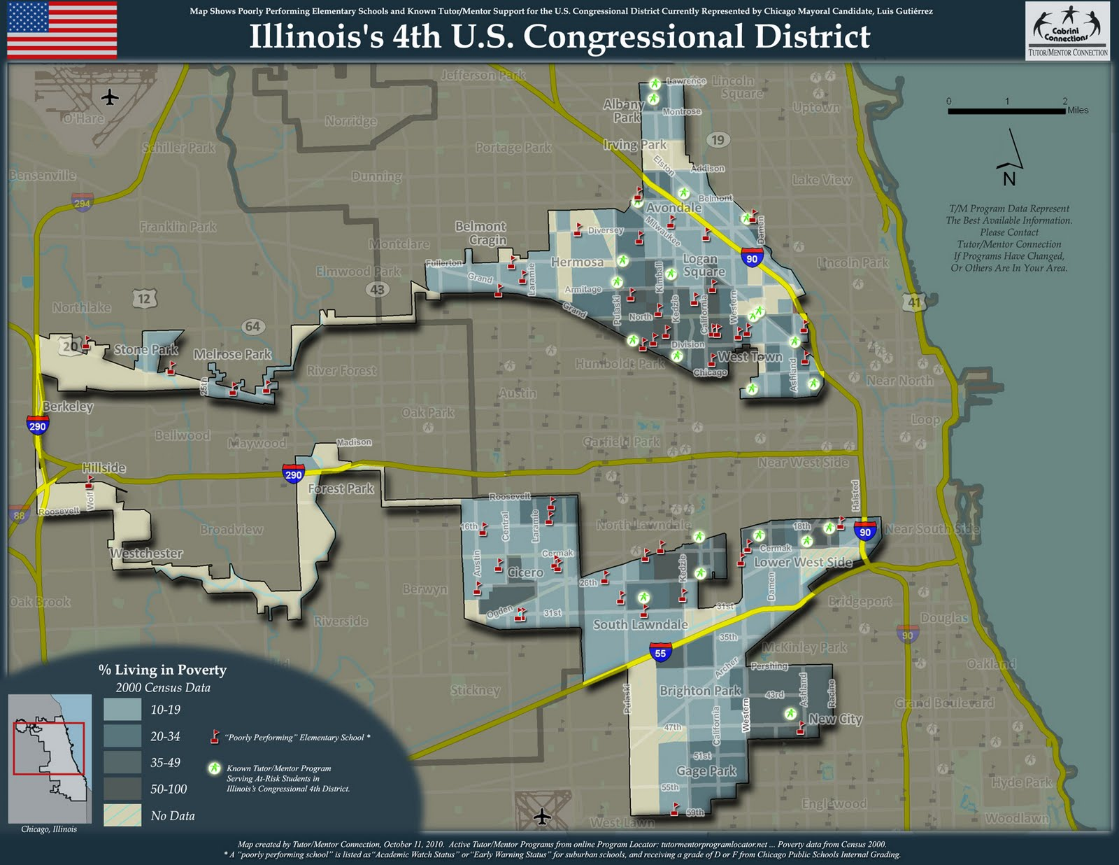 Chicago Map With Neighborhood Names%0A Luis Gutierrez Congressional District How to Draw Congressional District in  order to get Reelected   ROFLing   Pinterest   Luis gutierrez