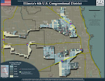 Illinois 4th Congressional District Map