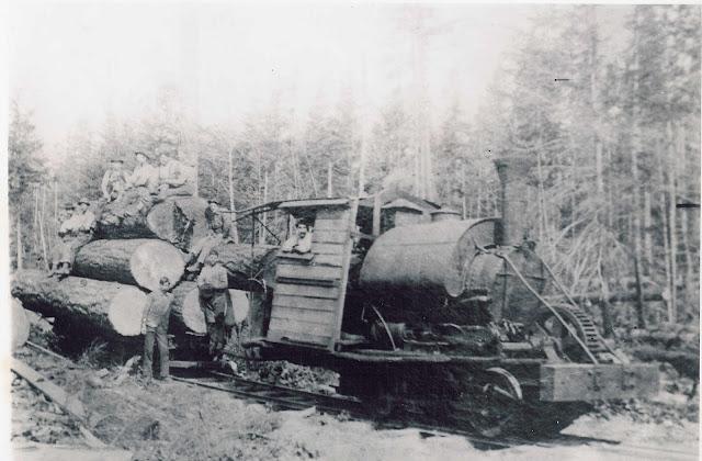 Shoreline Area ... Logging Camp History