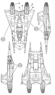 laser ghost  earth starfighter