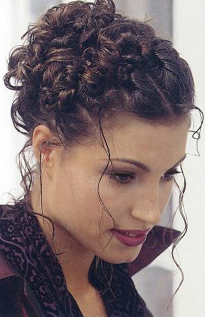 Short & Curly Hairstyles for Prom modern wedding hairstyles-updo hair styles