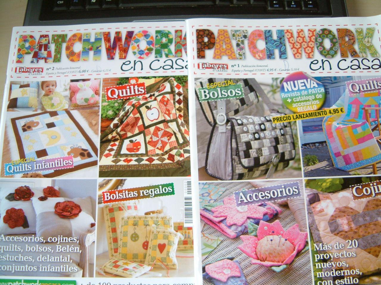 El blog de Montse: Revistas patchwork