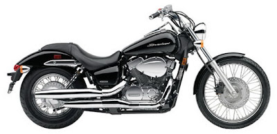 2009 Honda VT750C2 Shadow going 750
