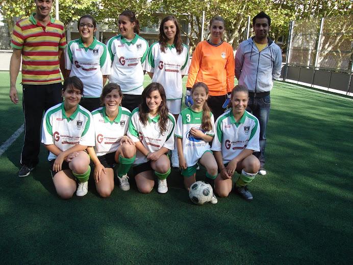 Equipa Feminina em 2008