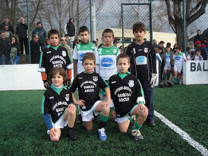 Equipa de 2001/2000 em Balasar. Dezembro de 2008