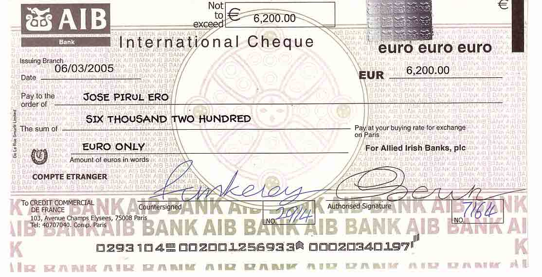 difference between ordinary cheque and travellers cheque State bank foreign travel card virtual card multi-city cheques personal segment: a multi-city cheque (mcc.