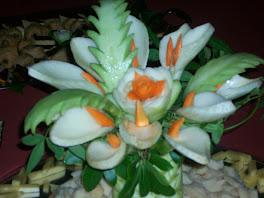 bouquet di finocchi ( calle)  e palmette