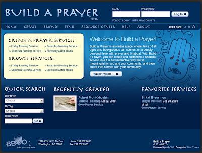 BBYO Build-a-Prayer