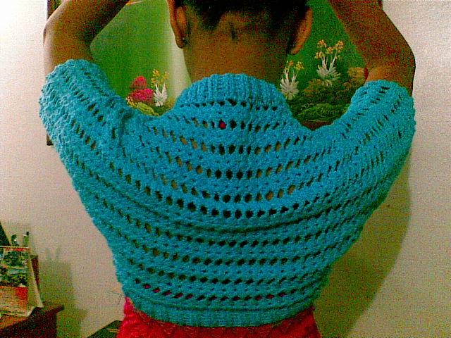 MIS DISEÑOS EN CROCHET Y MÁS....: Bolero a Crochet,