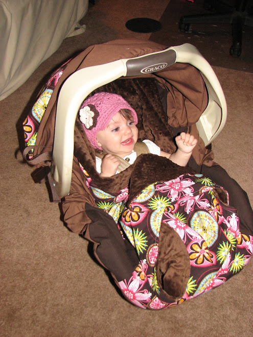 """Snuggle Ride"" Car Seat Blanket"