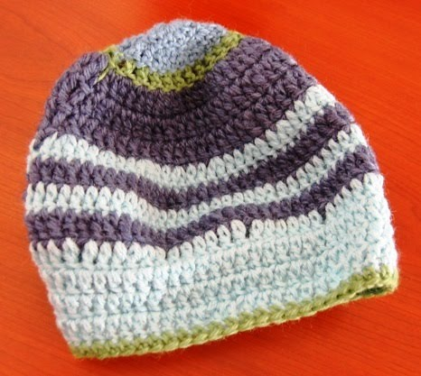 Como tejer un gorro con crochet - Imagui