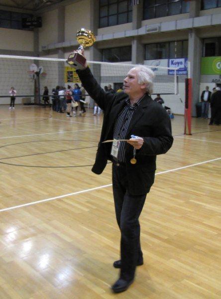 Μανωλης Κελεκος, το παρον και η ιστορια του τμηματος Volley του Πορφυρα.