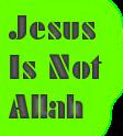 Yesus bukan Tuhan
