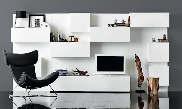 минимализм в интерьере, BoConcept, датская мебель
