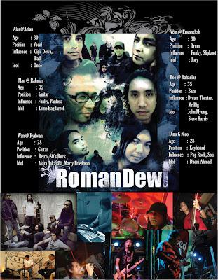 RomanDewi akan menggegarkan industri muzik di Sabah