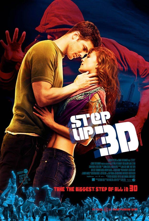 Up Movie Poster Step Up 3D | Teaser Tr...