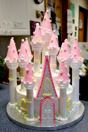 Princess Castle Cakes Gallery