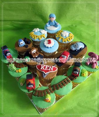 Pocoyo Theme Birthday Cake