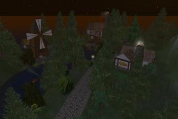 quaint town