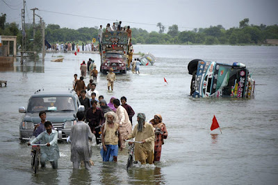Photo Of Floods In Pakistan Seen On www.coolpicturegallery.net