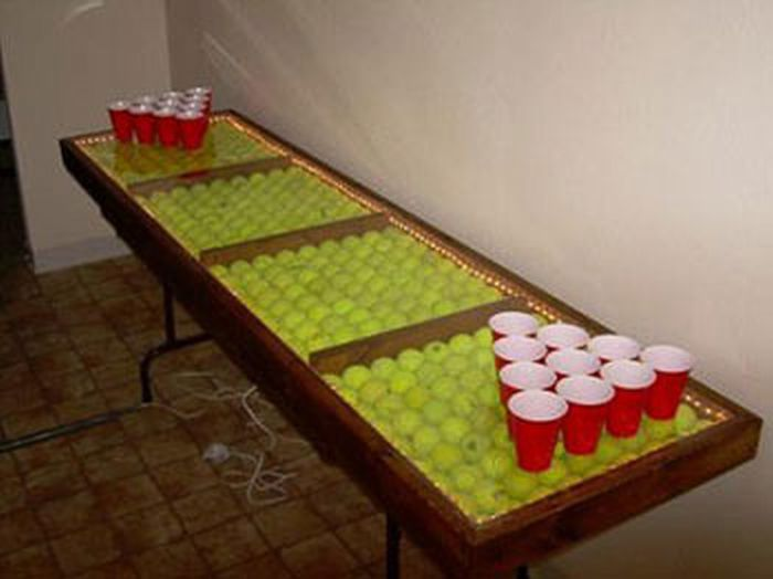 damn fresh pics awesome beer pong tables. Black Bedroom Furniture Sets. Home Design Ideas