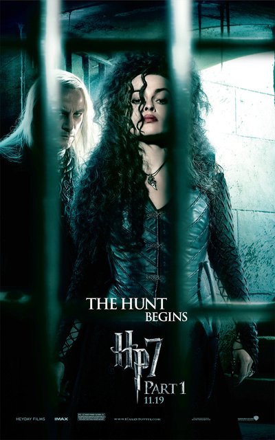 Bellatrix Lestrange Deathly Hallows. Deathly Hallows Poster