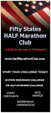 For more information on Fifty States HALF Marathon Club membership, please visit our website