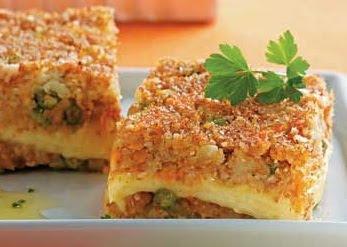 Torta de Trigo com Legumes