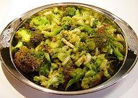 Brócolis com Molho Asiático