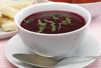 Sopa Fria de Beterraba