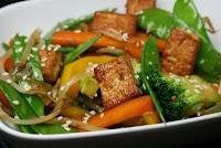 Legumes com Tofu