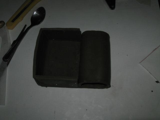 Como no hacer piezas con resinas 6 1 masilla epoxica - Masilla de silicona ...