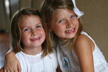 Lindsay, 7 and Kit, 9