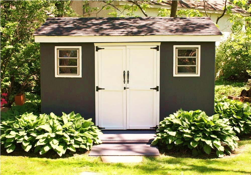 Diy Garden Sheds : Storage Shed Plans - Selecting The Right Building Site For Your Shed