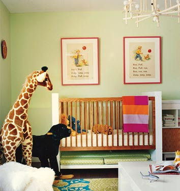 Baby Room on High Street Market  Vintage Inspired Kids Rooms