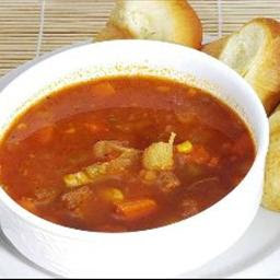 Hearty Beef And Vegetable Soup