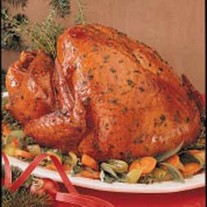 Food Corner: Herb-Roasted Turkey Recipe