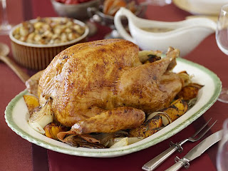 Brined, Herb Roasted Turkey