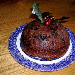 Traditional Christmas Pudding with Brandy Sauce recipe