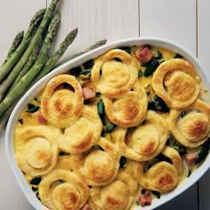 Christmas Asparagus Strata Recipe